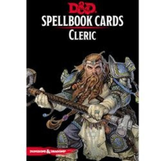 D&D: 5E Spell Cards - Cleric Deck
