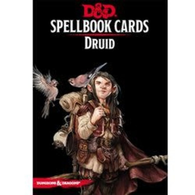 Dungeons & Dragons: 5th Edition Spell Cards - Druid Deck