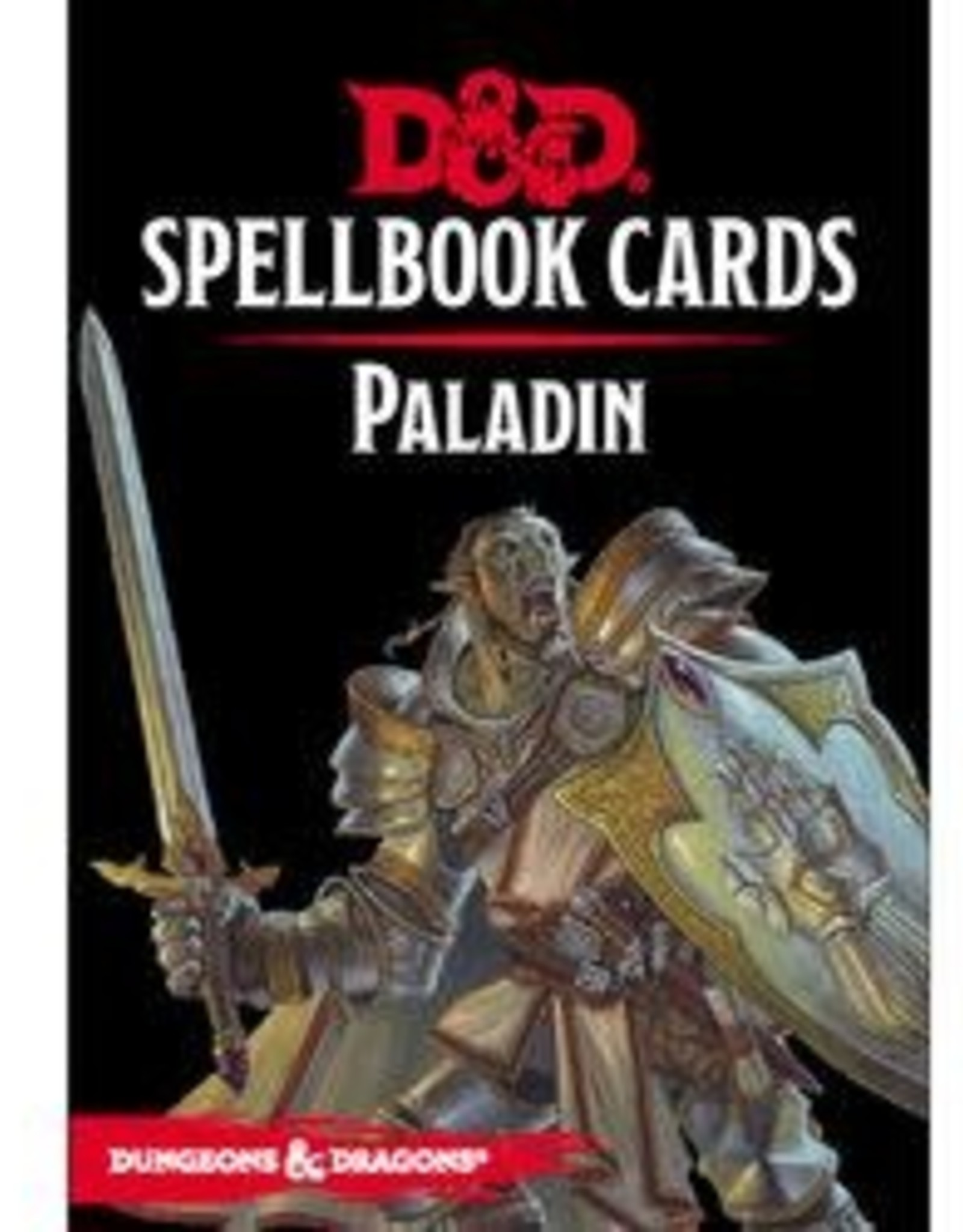 Gale Force Nine D&D Spell Cards: Paladin Deck