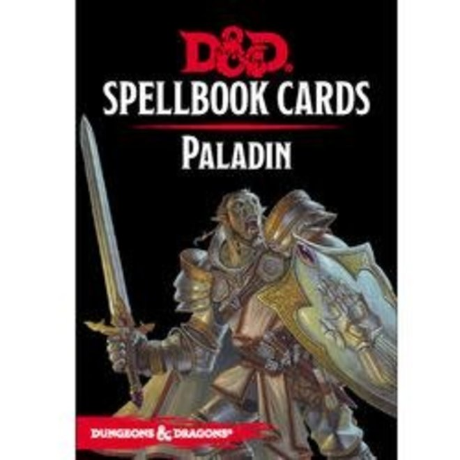 Dungeons & Dragons: 5th Edition Spell Cards - Paladin Deck