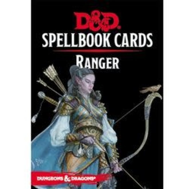 Dungeons & Dragons: 5th Edition Spell Cards - Ranger Deck