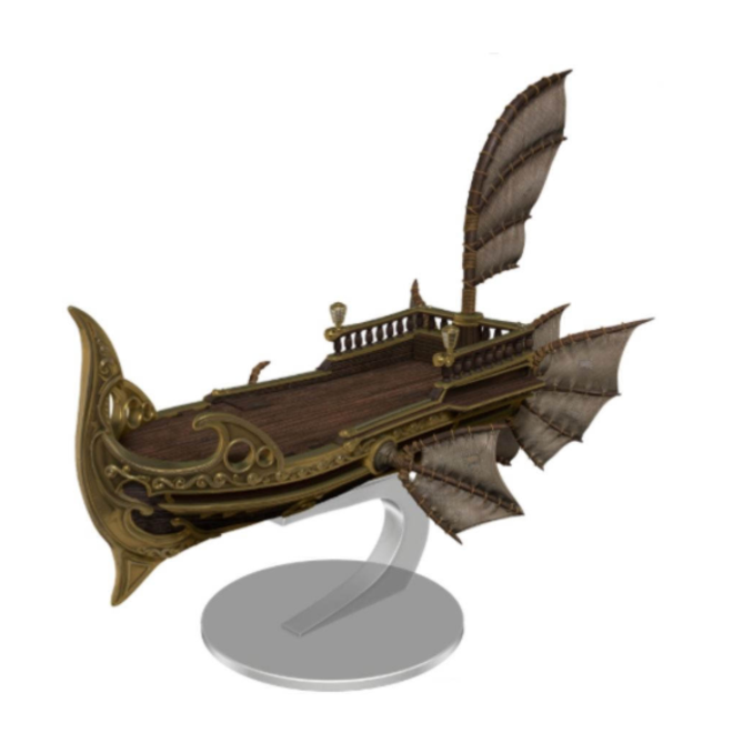 D&D Icons: Eberron Skycoach