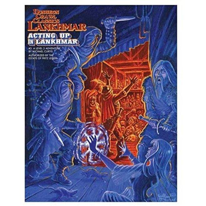 Dungeon Crawl Classics: Lankhmar - #3 Acting Up In Lankhmar