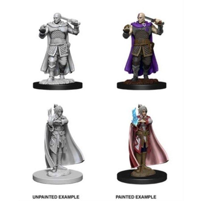 Dungeons & Dragons Nolzur's Marvelous Miniatures: Human Ranger & Moon Elf
