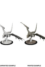 WizKids Dungeons & Dragons Nolzur's Marvelous Miniatures: Young White Dragon