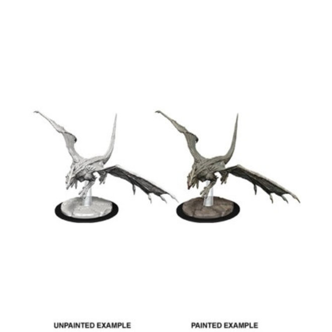 Dungeons & Dragons Nolzur's Marvelous Miniatures: Young White Dragon