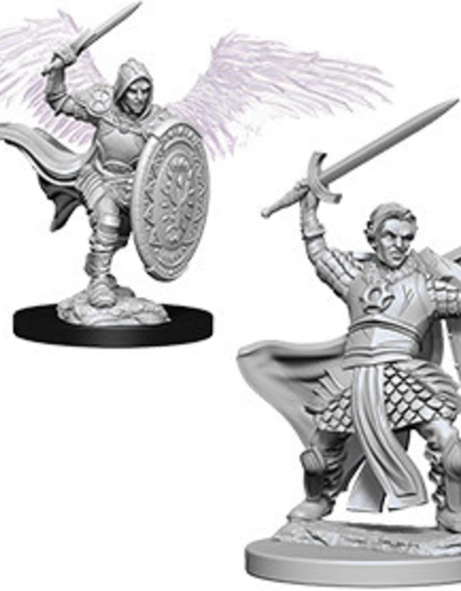 WizKids Dungeons & Dragons Nolzur's Marvelous Miniatures: Aasimar Male Paladin