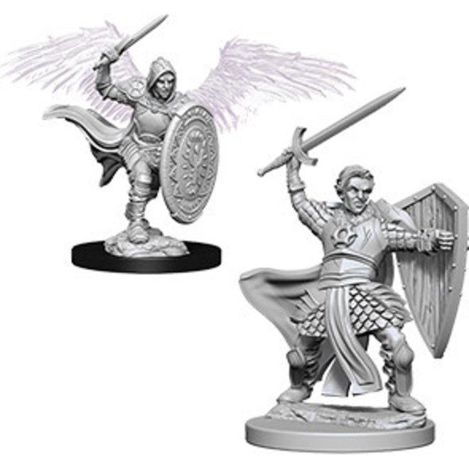 Dungeons & Dragons Nolzur's Marvelous Miniatures: Aasimar Male Paladin