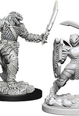 WizKids Dungeons & Dragons Nolzur's Marvelous Miniatures: Dragonborn Female Paladin