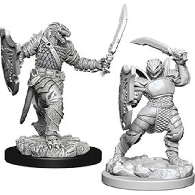 Dungeons & Dragons Nolzur's Marvelous Miniatures: Dragonborn Female Paladin