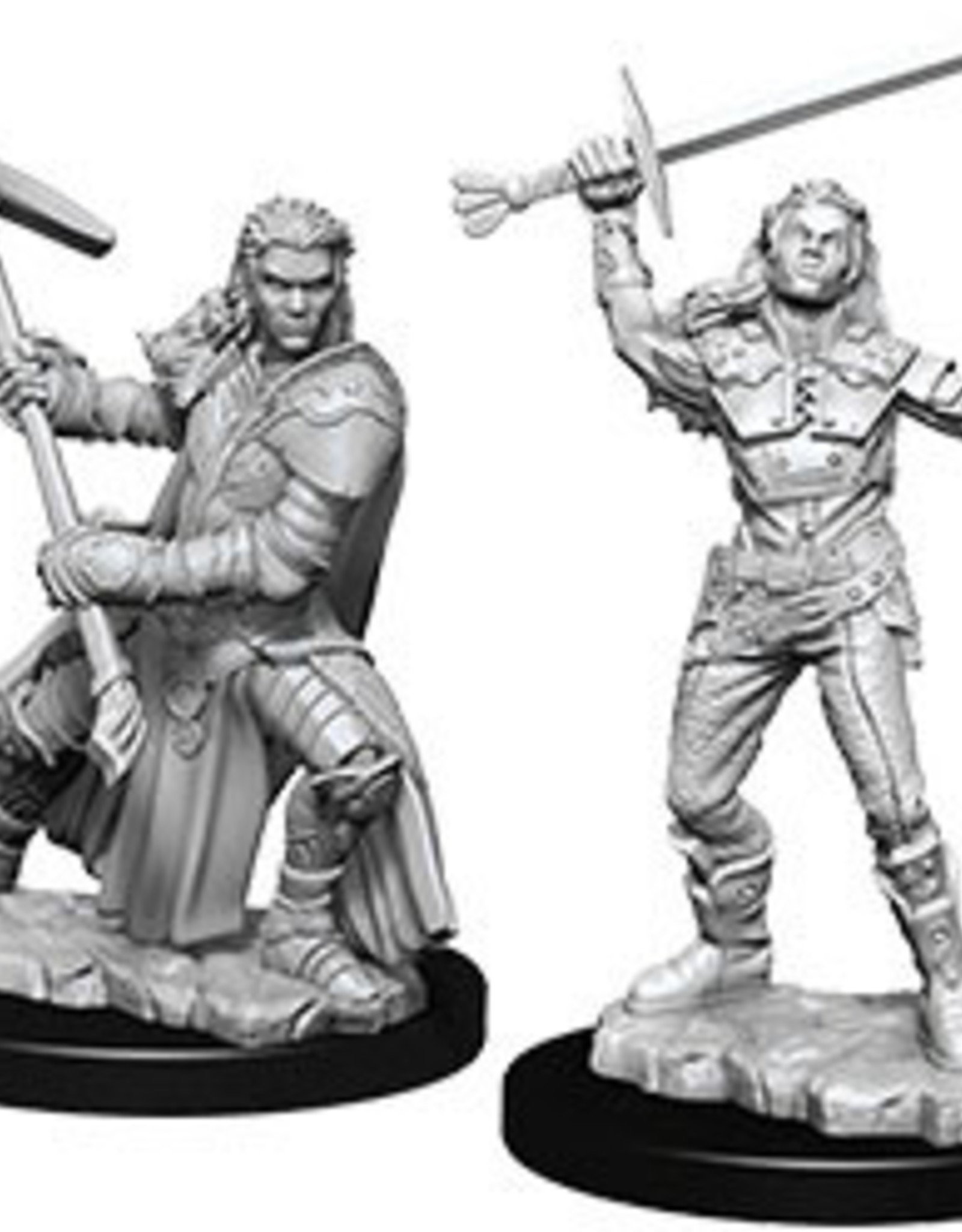 WizKids Dungeons & Dragons Nolzur's Marvelous Miniatures: Female Half-Orc Fighter