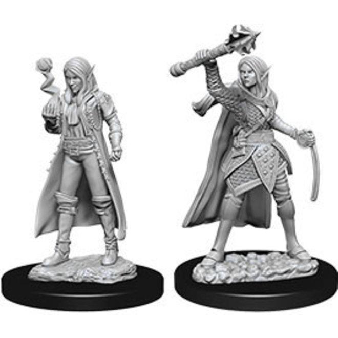 D&D NM: Female Elf Cleric