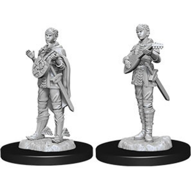 Dungeons & Dragons Nolzur's Marvelous Miniatures: Female Half-Elf Bard