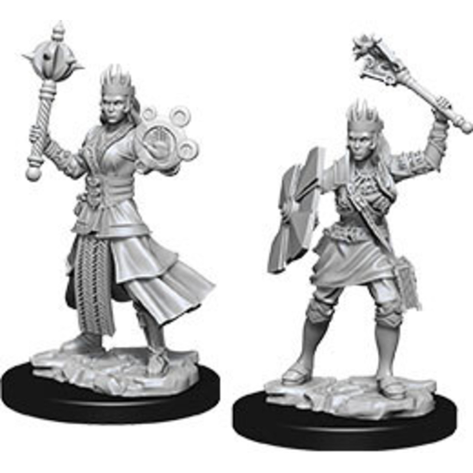 WizKids Dungeons & Dragons Nolzur's Marvelous Miniatures: Female Human Cleric