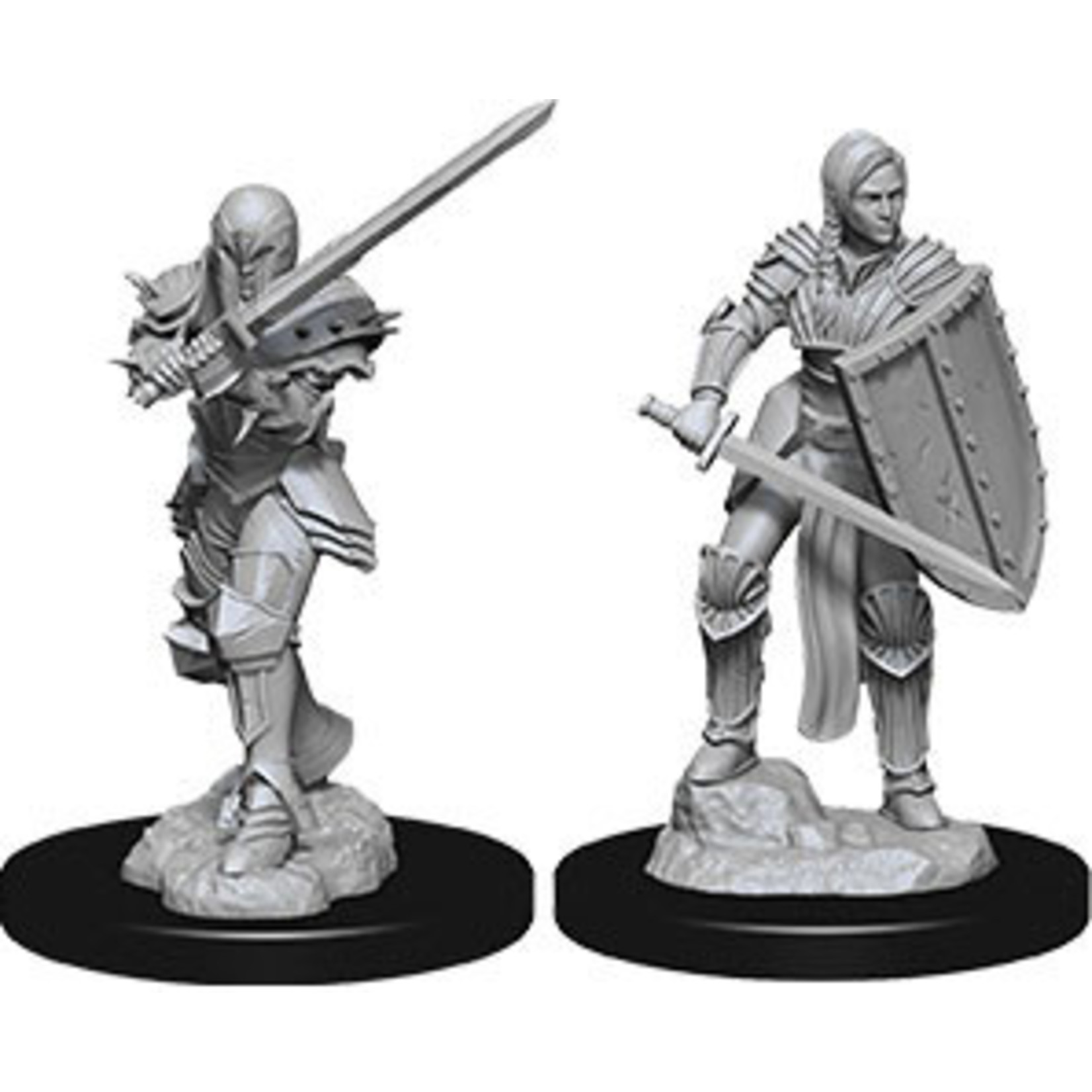 WizKids Dungeons & Dragons Nolzur's Marvelous Miniatures: Female Human Fighter