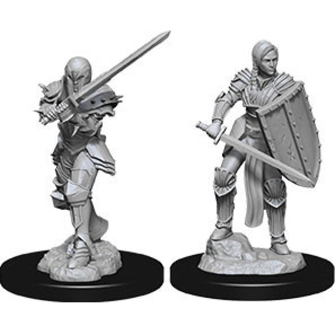 Dungeons & Dragons Nolzur's Marvelous Miniatures: Female Human Fighter