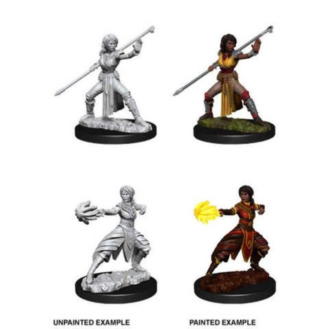 Dungeons & Dragons Nolzur's Marvelous Miniatures: Female Half Elf Monk