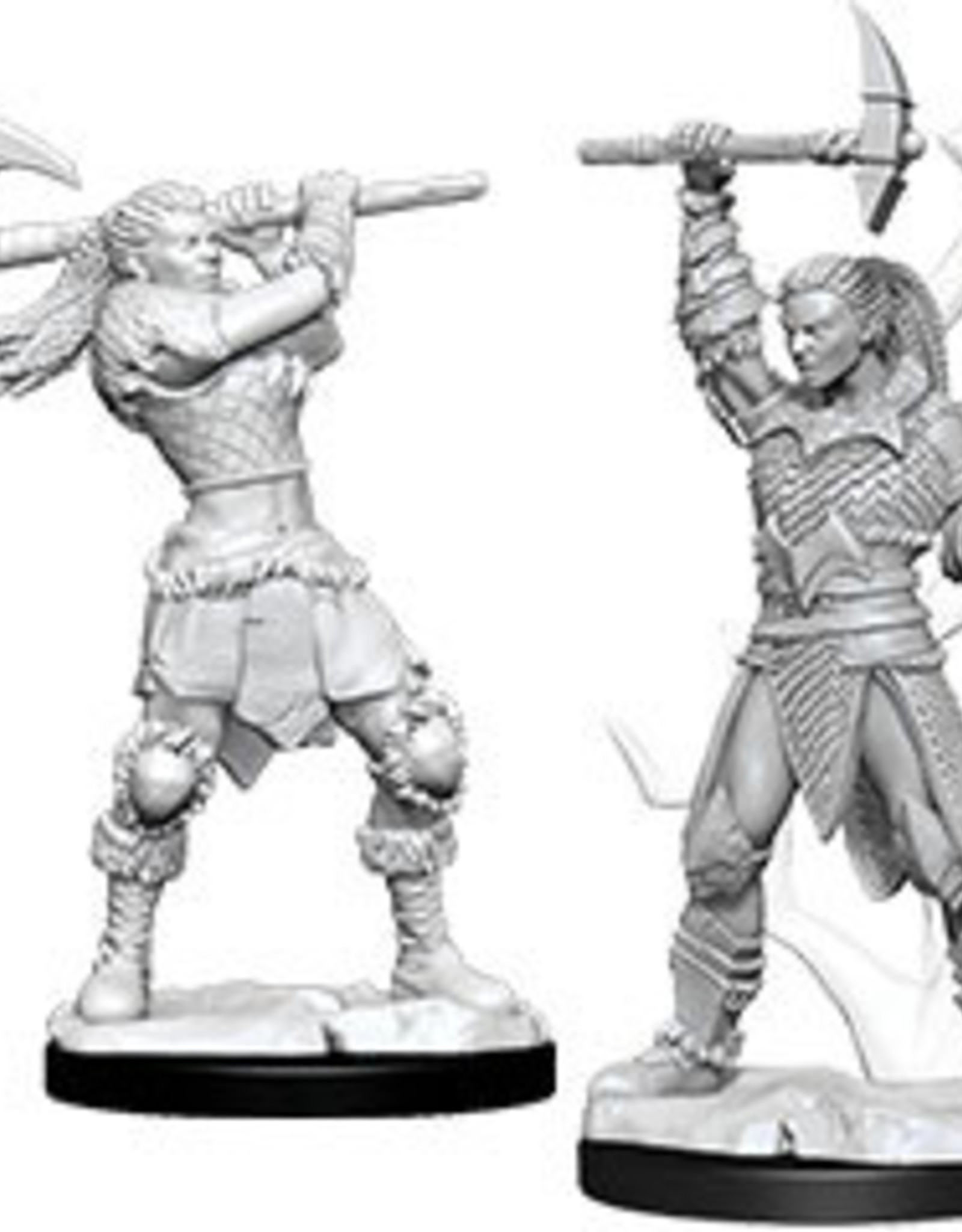 WizKids Dungeons & Dragons Nolzur's Marvelous Miniatures: Female Goliath Barbarian