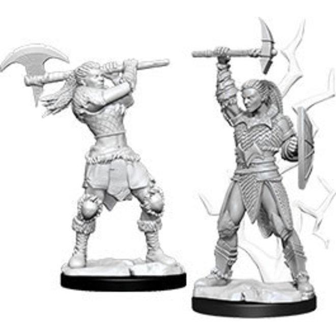 D&D NM: Female Goliath Barbarian