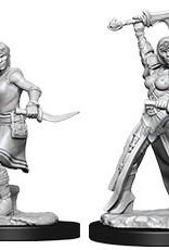 WizKids Dungeons & Dragons Nolzur's Marvelous Miniatures: Female Human Rogue