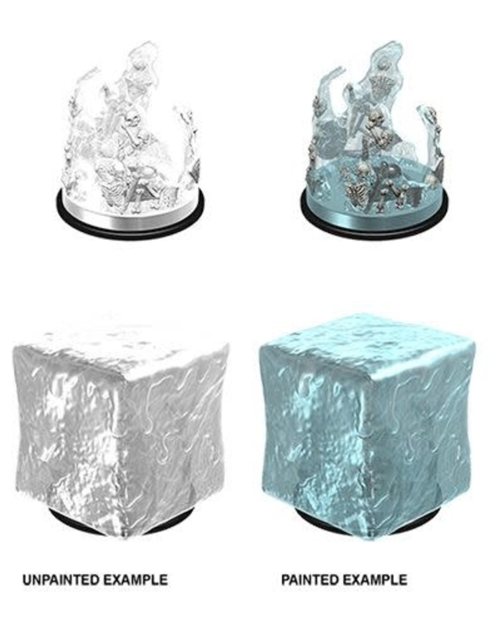 WizKids Dungeons & Dragons Nolzur's Marvelous Miniatures: Gelatinous Cube