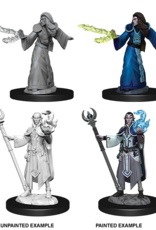 WizKids Dungeons & Dragons Nolzur's Marvelous Miniatures: Male Elf Wizard
