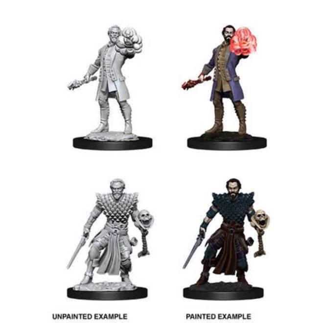 Dungeons & Dragons Nolzur's Marvelous Miniatures: Male Human Warlock