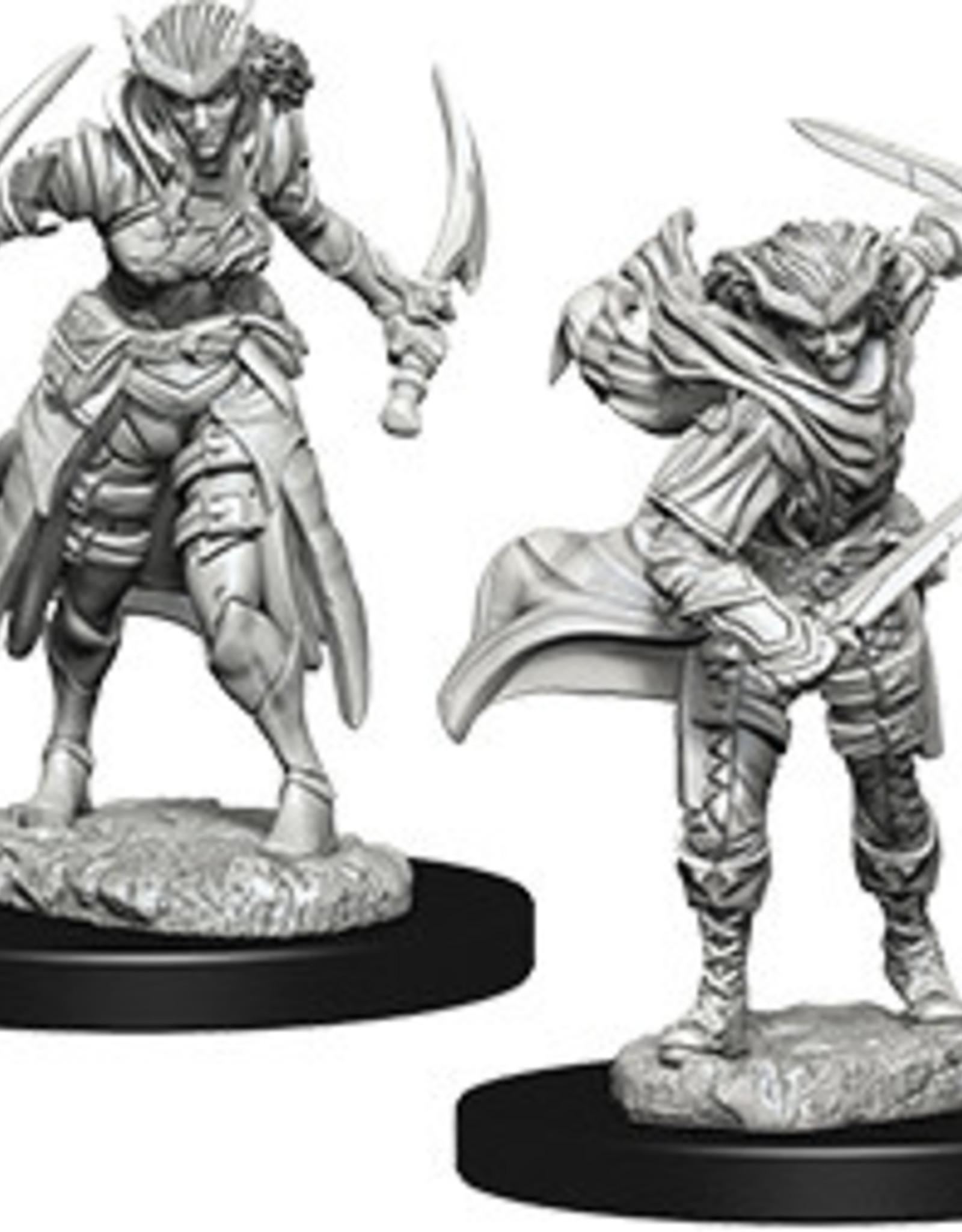 WizKids Dungeons & Dragons Nolzur's Marvelous Miniatures: Tiefling Female Rogue