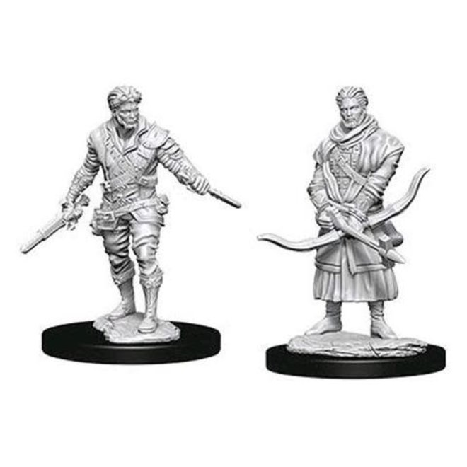 Dungeons & Dragons Nolzur's Marvelous Miniatures: Male Human Rogue