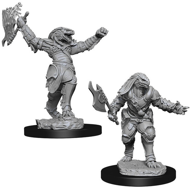 Dungeons & Dragons Nolzur's Marvelous Miniatures: Female Dragonborn Fighter