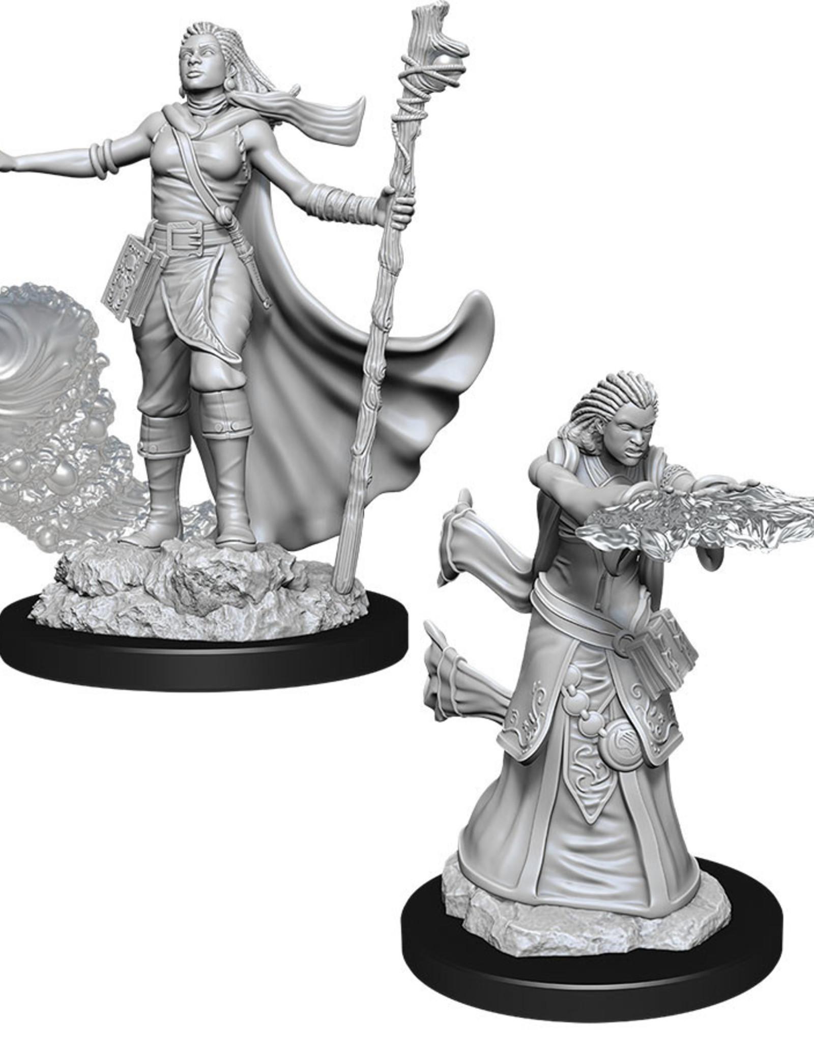 WizKids Dungeons & Dragons Nolzur's Marvelous Miniatures: Female Human Wizard