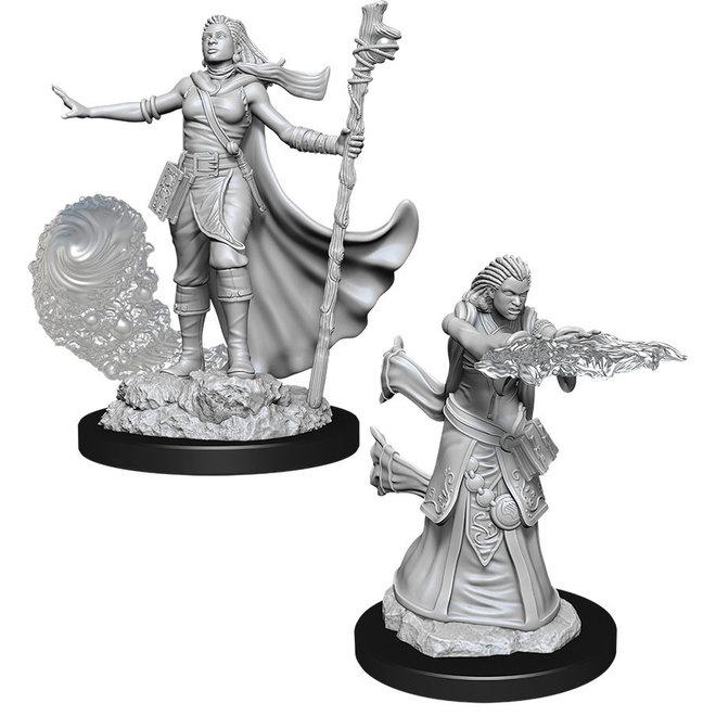 D&D NM: Female Human Wizard