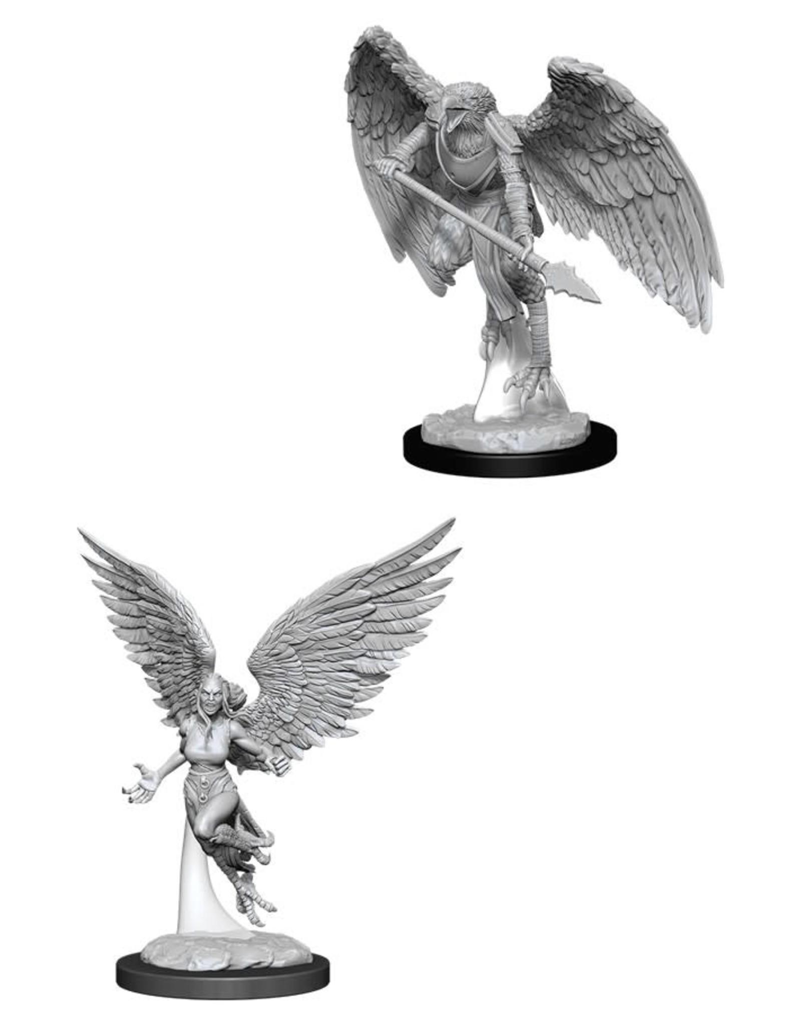WizKids Dungeons & Dragons Nolzur's Marvelous Miniatures: Harpy & Arakocra