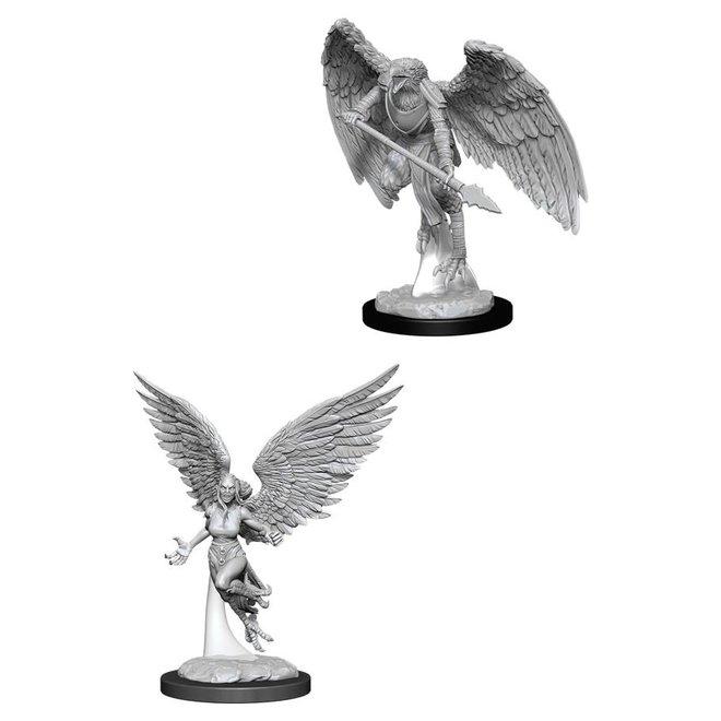 Dungeons & Dragons Nolzur's Marvelous Miniatures: Harpy & Arakocra