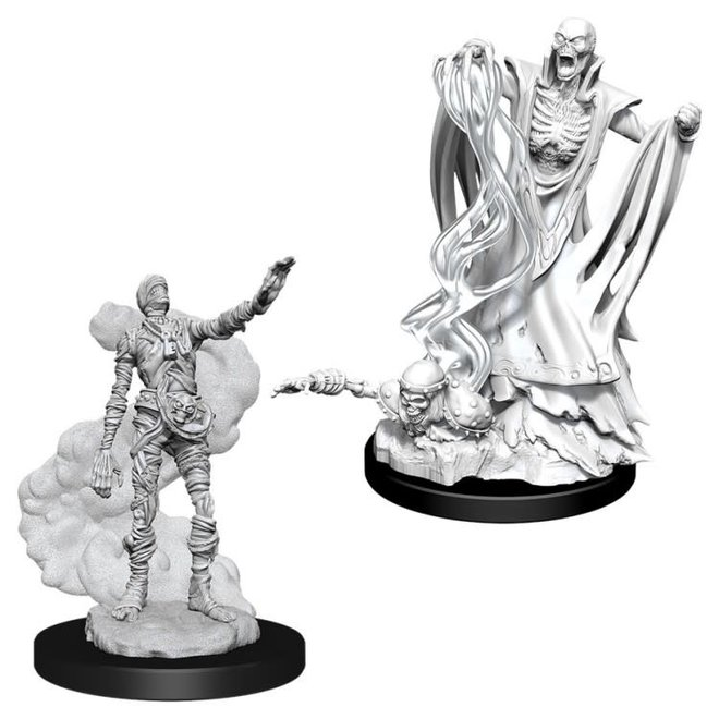 Dungeons & Dragons Nolzur's Marvelous Miniatures: Lich & Mummy Lord