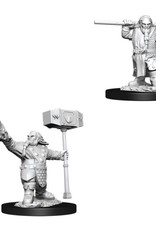 WizKids Dungeons & Dragons Nolzur's Marvelous Miniatures: Male Dwarf Cleric