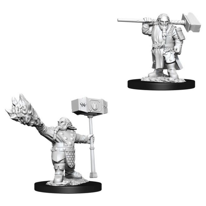 Dungeons & Dragons Nolzur's Marvelous Miniatures: Male Dwarf Cleric