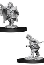 WizKids Dungeons & Dragons Nolzur's Marvelous Miniatures: Male Halfling Rogue