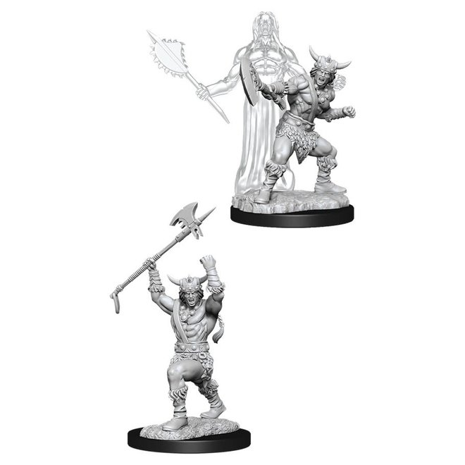 Dungeons & Dragons Nolzur's Marvelous Miniatures: Male Human Barbarian