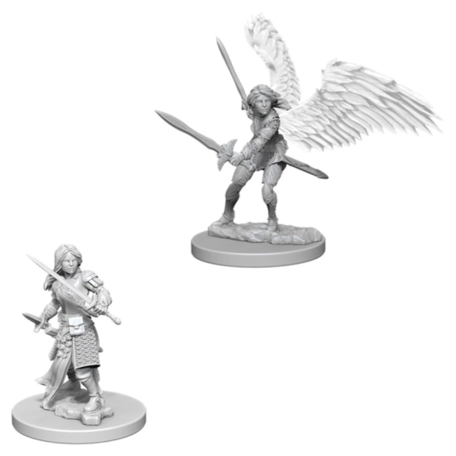 Dungeons & Dragons Nolzur's Marvelous Miniatures: Wave 5 Aasimar Female Paladin