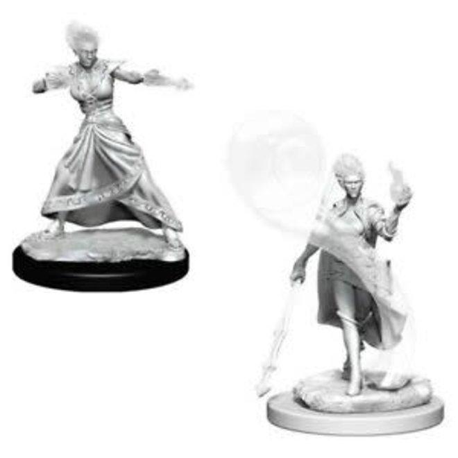 D&D NM: Fire Genasi Female Wizard