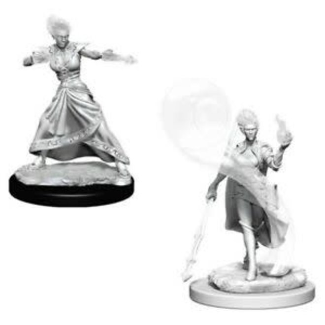 Dungeons & Dragons Nolzur's Marvelous Miniatures: Fire Genasi Female Wizard