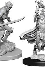 WizKids Dungeons & Dragons Nolzur's Marvelous Miniatures: Female Elf Fighter