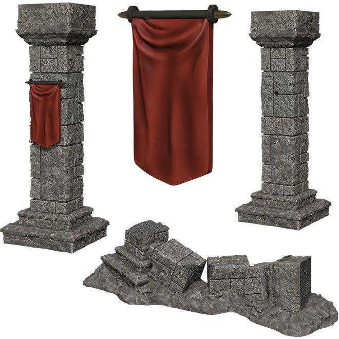 Dungeons & Dragons Nolzur's Marvelous Miniatures: Pillars & Banners