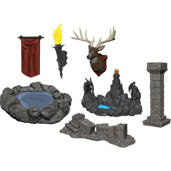 Dungeons & Dragons Nolzur's Marvelous Miniatures: Pools & Pillars