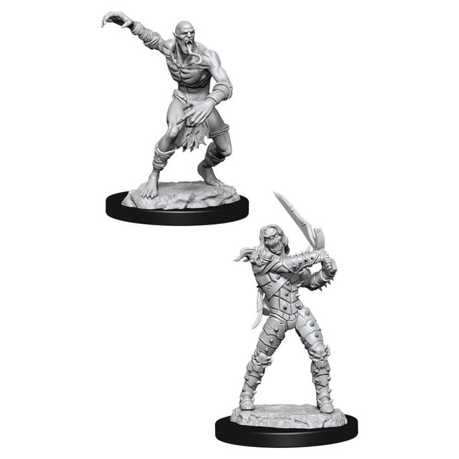 Dungeons & Dragons Nolzur's Marvelous Miniatures: Wight & Ghast