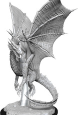 WizKids Dungeons & Dragons Nolzur's Marvelous Miniatures: Young Silver Dragon