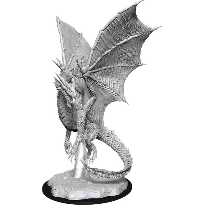 Dungeons & Dragons Nolzur's Marvelous Miniatures: Young Silver Dragon