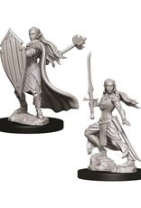 WizKids Dungeons & Dragons Nolzur's Marvelous Miniatures: Female Elf Paladin