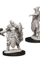 WizKids Dungeons & Dragons Nolzur's Marvelous Miniatures: Female Half-Orc Barbarian